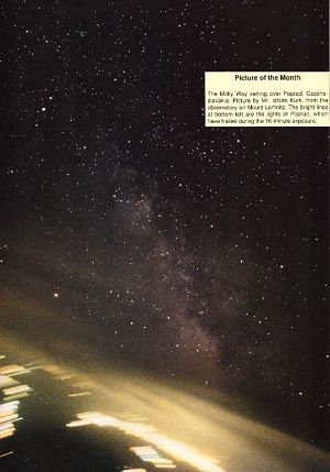 Picture of the month July 1991, Astronomy Now.