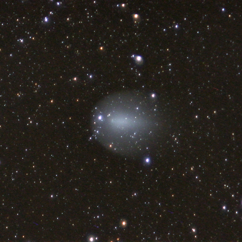 Comet 17 P/Holmes captured on 2007 Dec 09