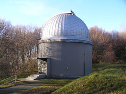 Dome for 0.60 m Schmidt telescope